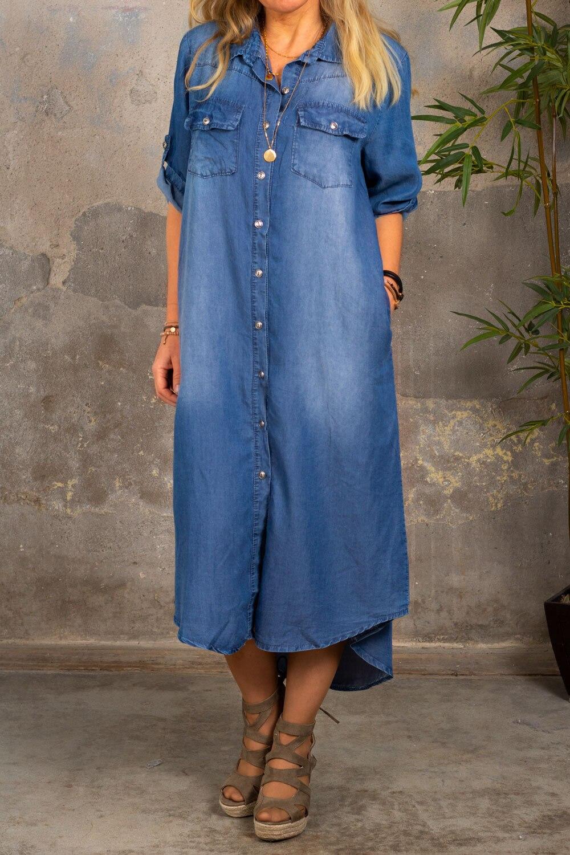 Abbie - Jeans kjole