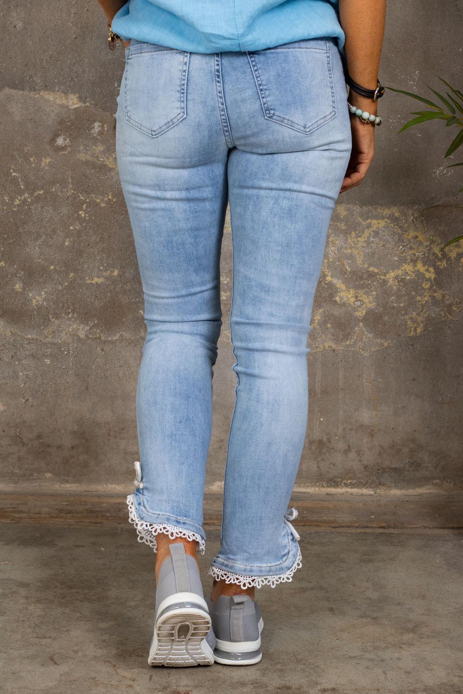 Jeans PSA3198 - Lace & Bow - Lett vask