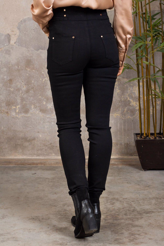 Bukse med gulldetaljer - QED0838