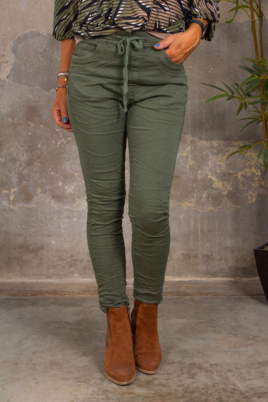 Jogging jeans 92913 - Khaki