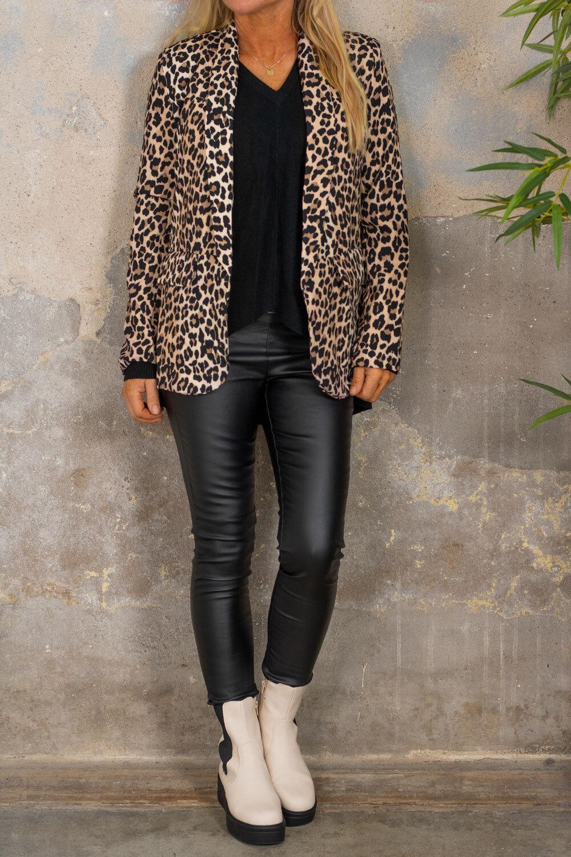 Jakke - Leopardmønster