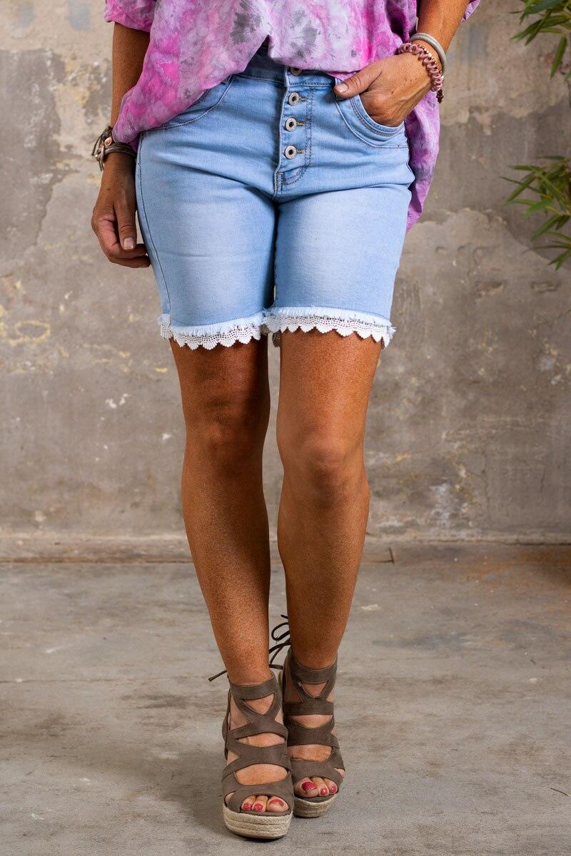 Langa-Shorts-med-Spets-denim-fram