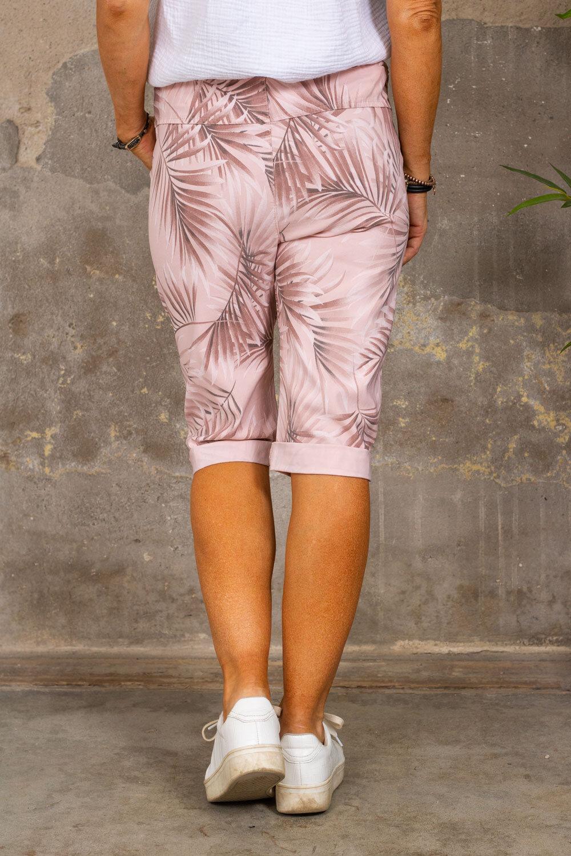 Lange stretch shorts 5585 - Blader - Rosa