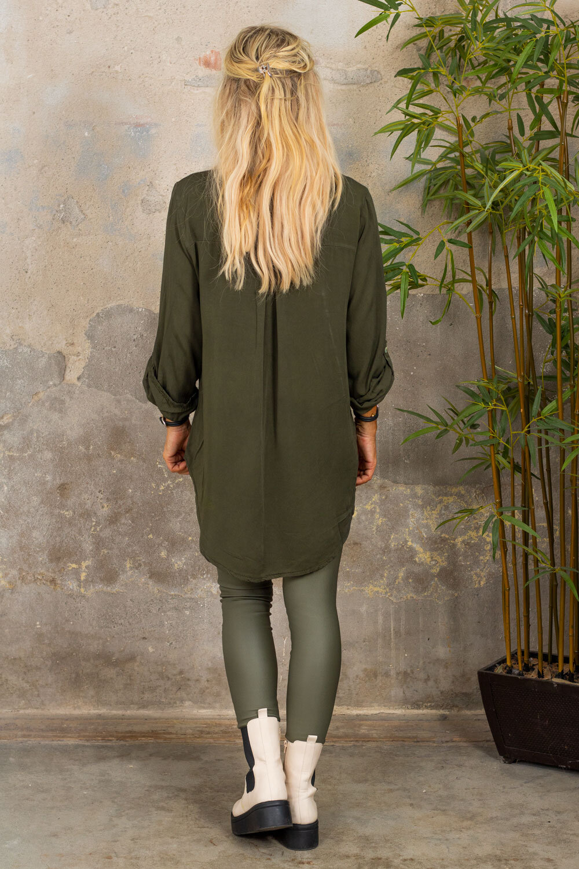 Luna skjorte - Militærgrønn
