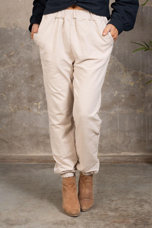 Myke bukser 2502 - Beige