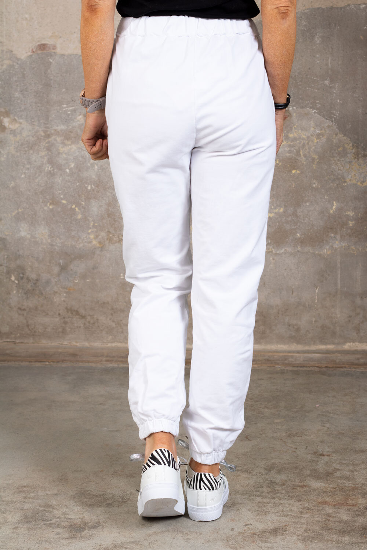 Myke bukser 2502 - Hvit