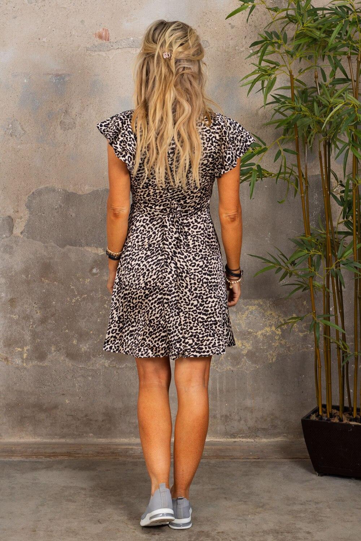 Paloma kjole - Leo - Svart/Beige
