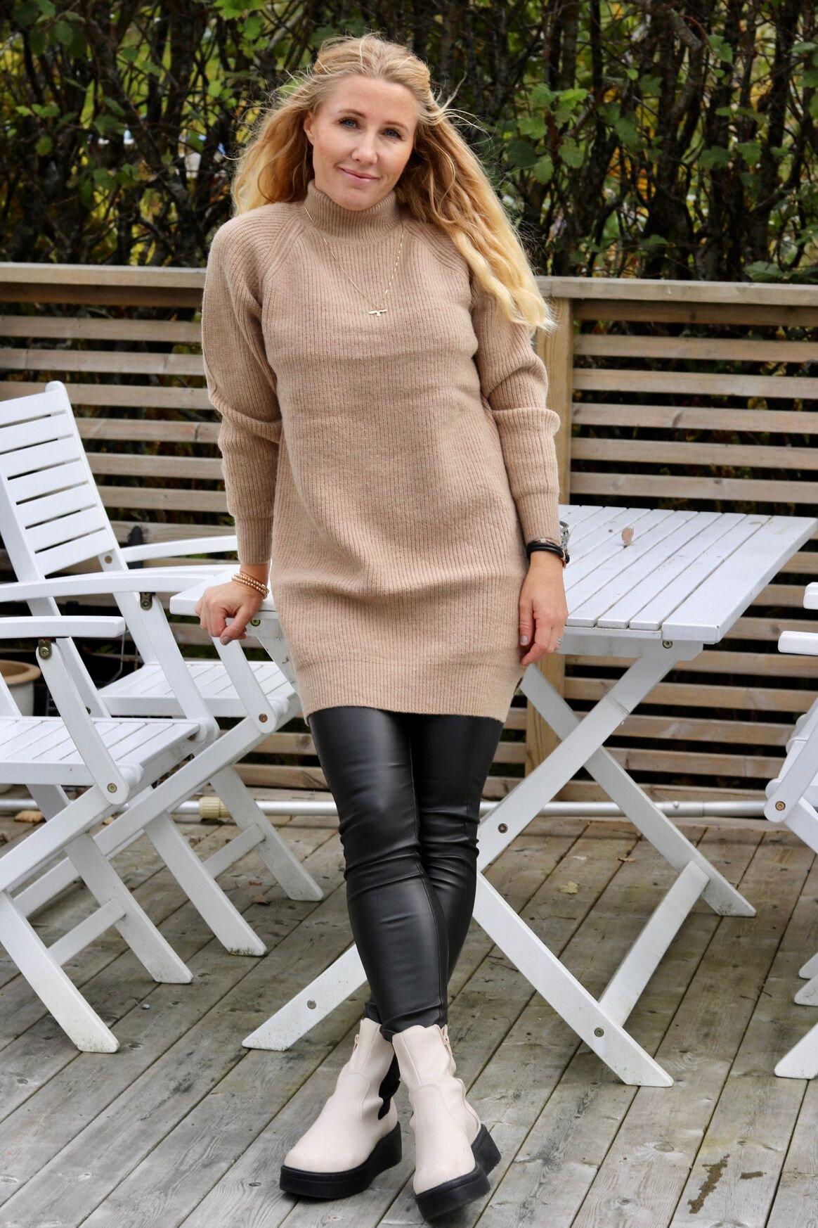 Pixie langstrikket genser - Sand