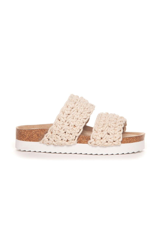 Sandal Flettet - Beige