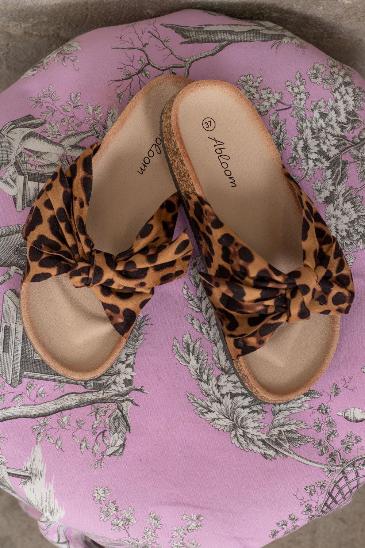 Sandaler med rosett - 231 - Leo