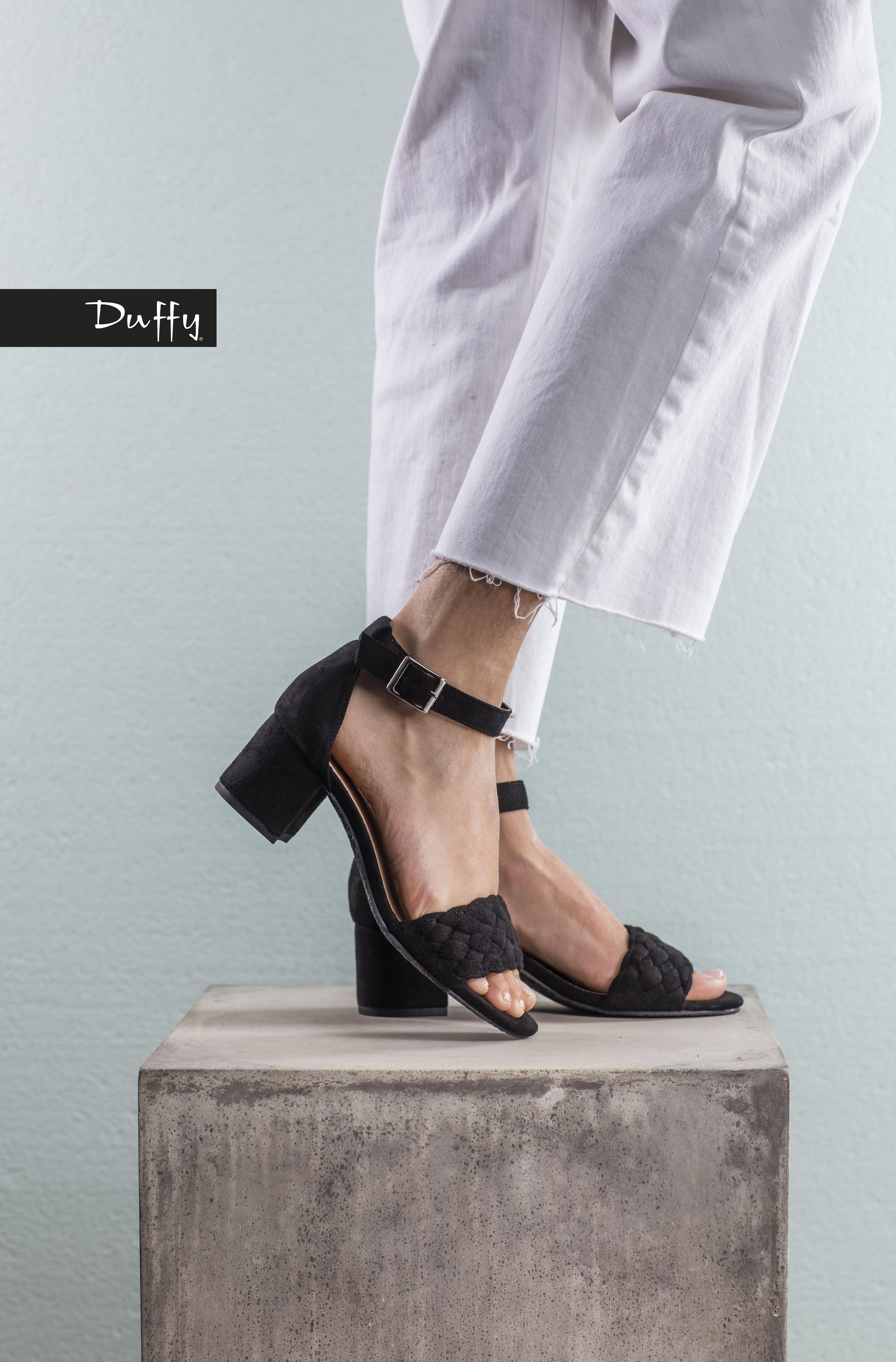 Sandal høy hæl - Svart