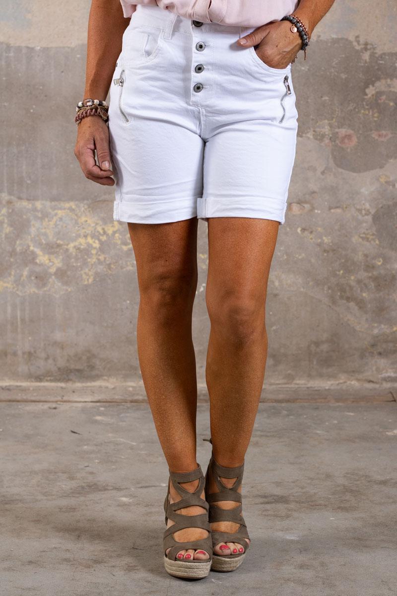 Shorts-med-Dragkejda---S18216---Vit-fram