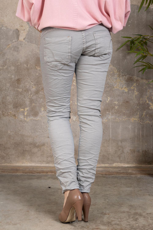 Stilig bukse 90073 - Lysegrå