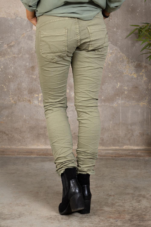 Stilig bukse 90073 - Lyse khaki