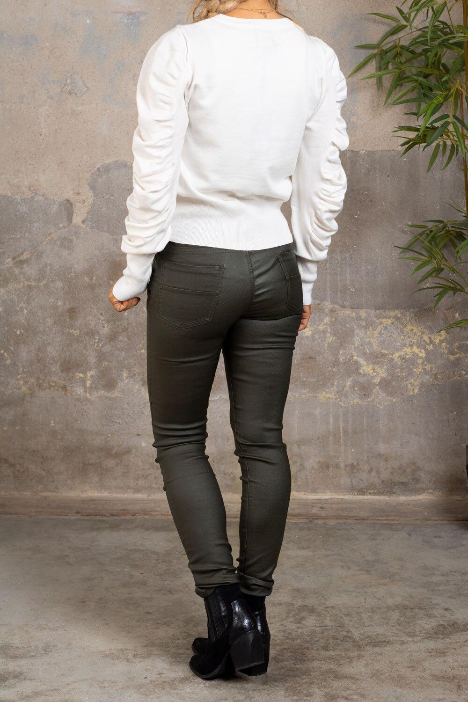 Solveig-Troja---Frill-sleeve---Cream-bak