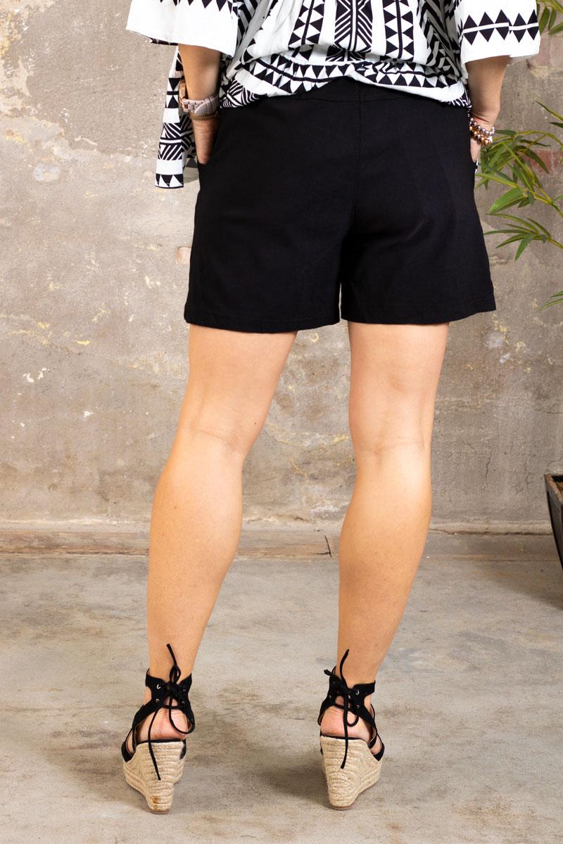 Stretch-Shorts---301---Svart---bak