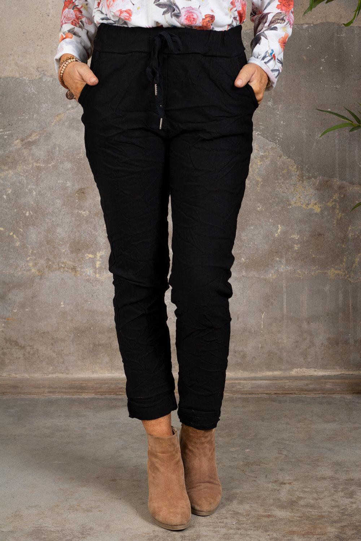 Stretchiga-bukse 2245 - Svart