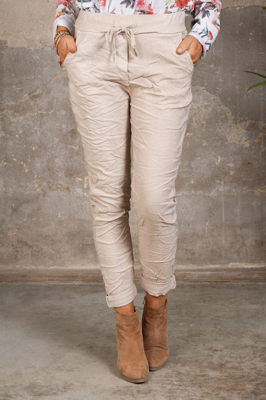 Stretchiga-bukse 2245 - Beige