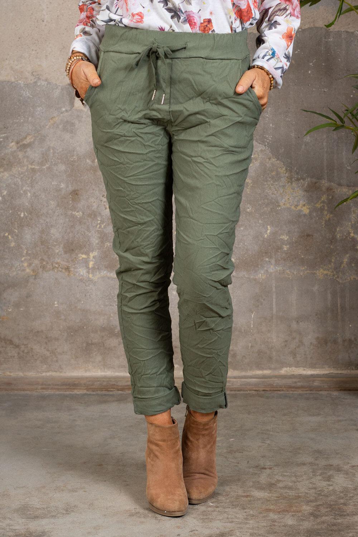 Stretchiga-bukse 2245 - Khaki