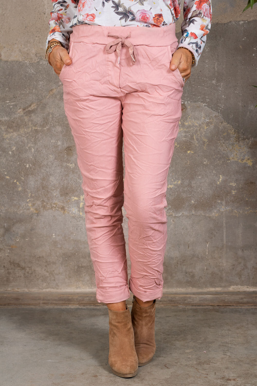 Stretchiga-bukse 2245 - Rosa