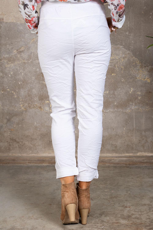 Stretchiga-bukse 2245 - Hvit