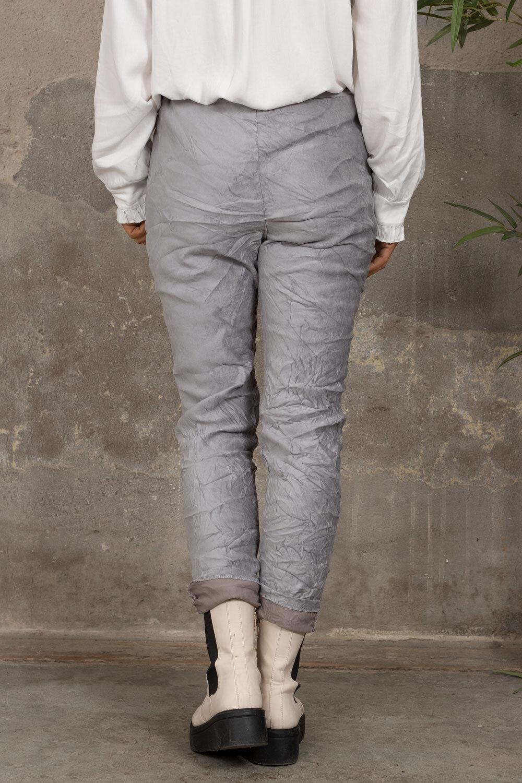 Elastiske bukser 7164 - Bling star - Grå
