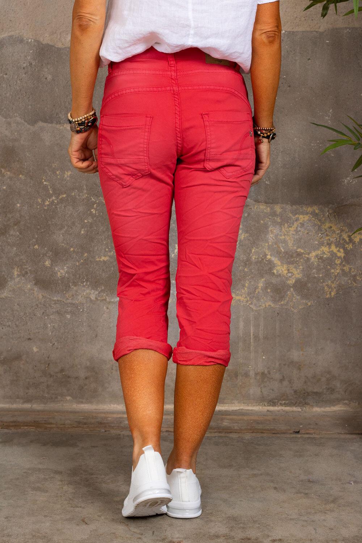 Trekvart bukser 1233 - Rød