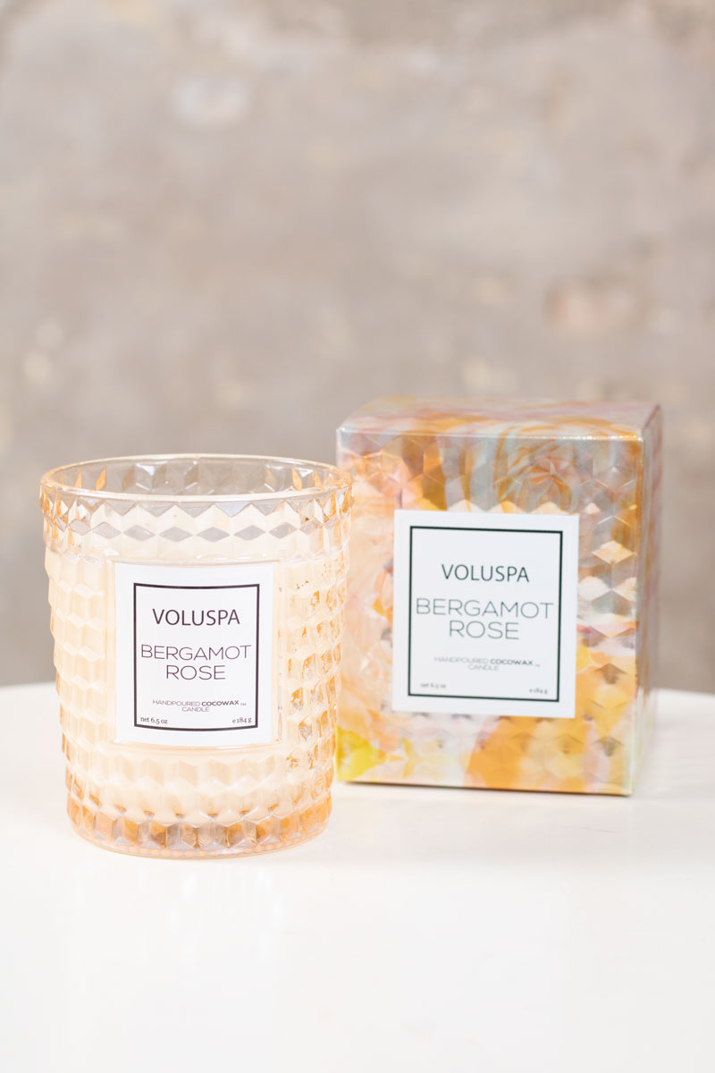Voluspa---Bergamot-Rose---Doftljus