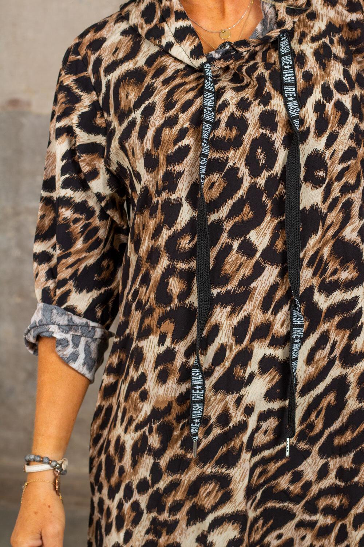 Whitney Leopard-kjole - Hette & Strengene